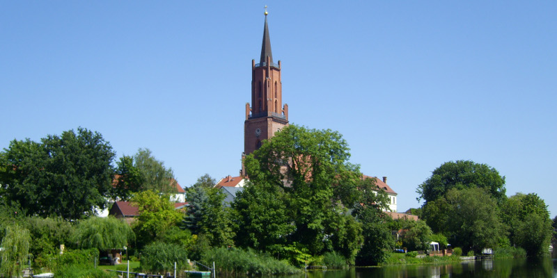 Rathenow: Hafenblick
